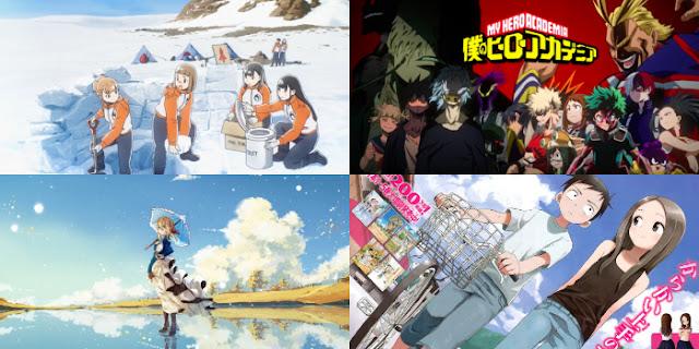 16 Daftar Anime Terbaik 2018 Sejauh Ini!