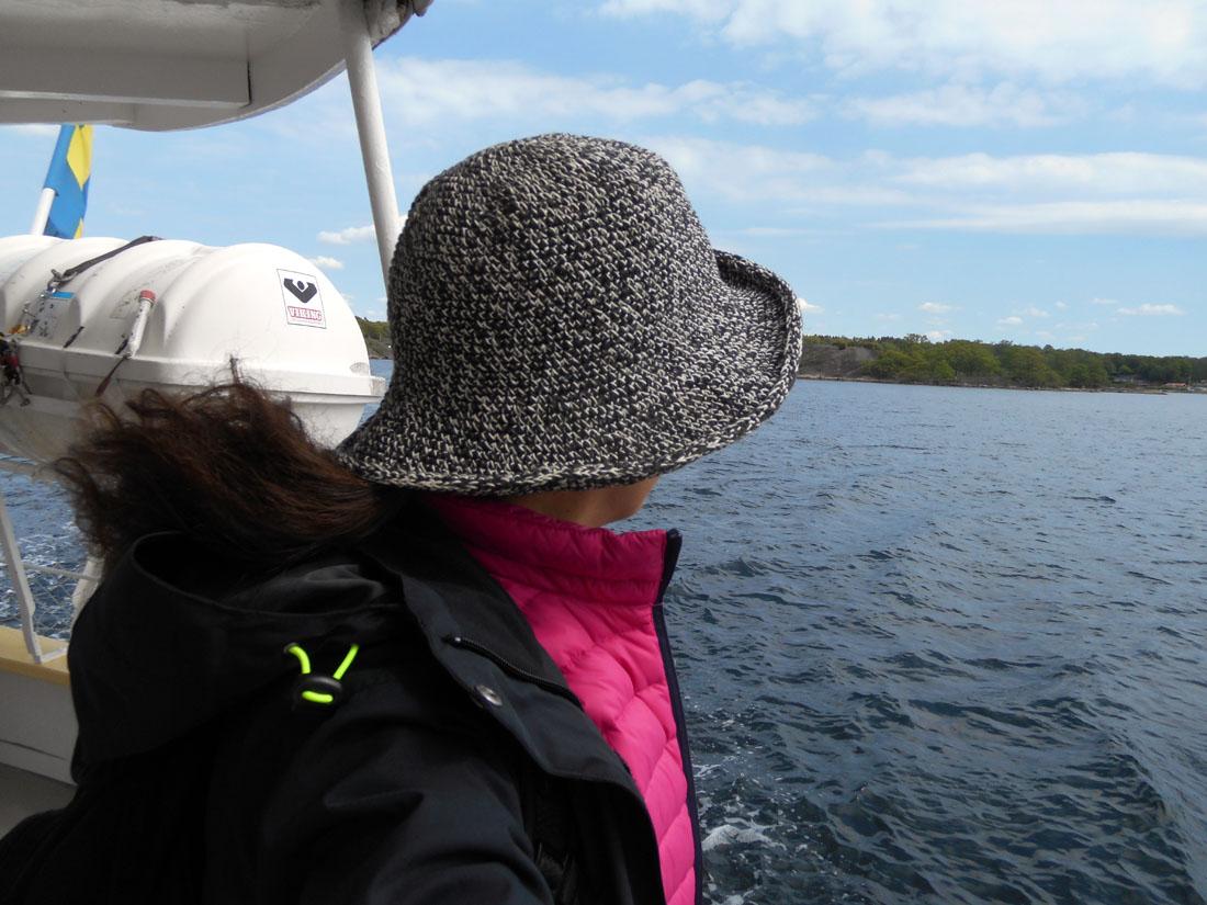 Sulla barca per Tjärö