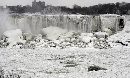 The Frozen Niagara Falls