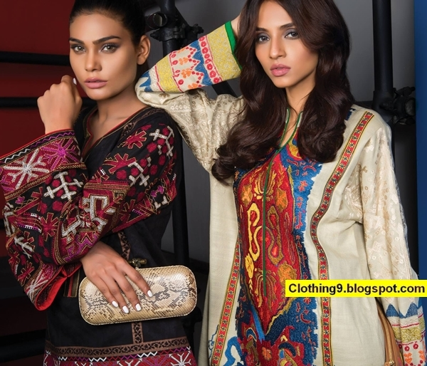 Sana Safinaz Ready to Wear Fall Winter Collection 2016-2017