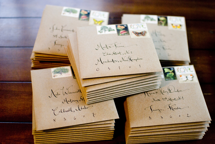 Wedding Invitation Inner And Outer Envelope Etiquette Popular