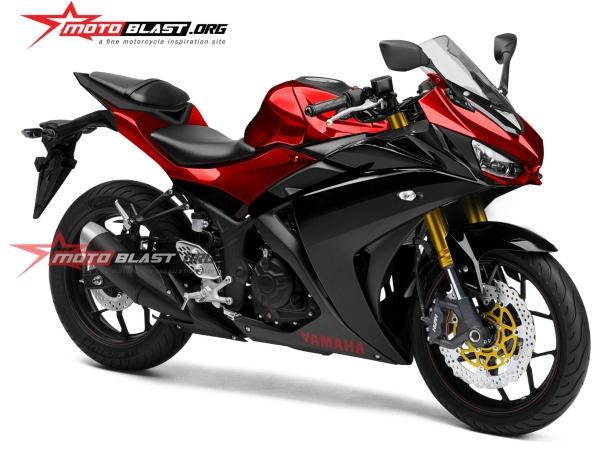 Yamaha YZF-R25R Rendering, Facelift Dan Fork USD Baru?