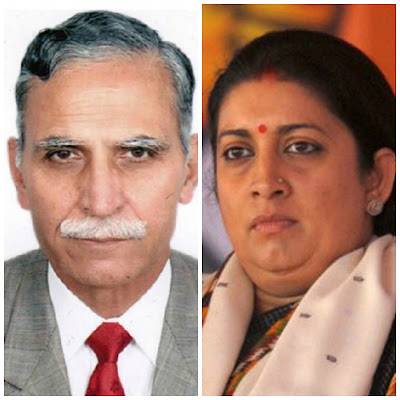 The Vice Chancellor of Aligarh Muslim University, Lt Gen (Retd) Zameer Uddin Shah, has denied a report that Union HRD Minister Smriti Irani humiliated him at a meeting in January.   But Milli Gazette, which broke the story, categorically says it stands by its report.  Lt Gen Shah, a three star general, retired as the deputy chief of Indian Army.