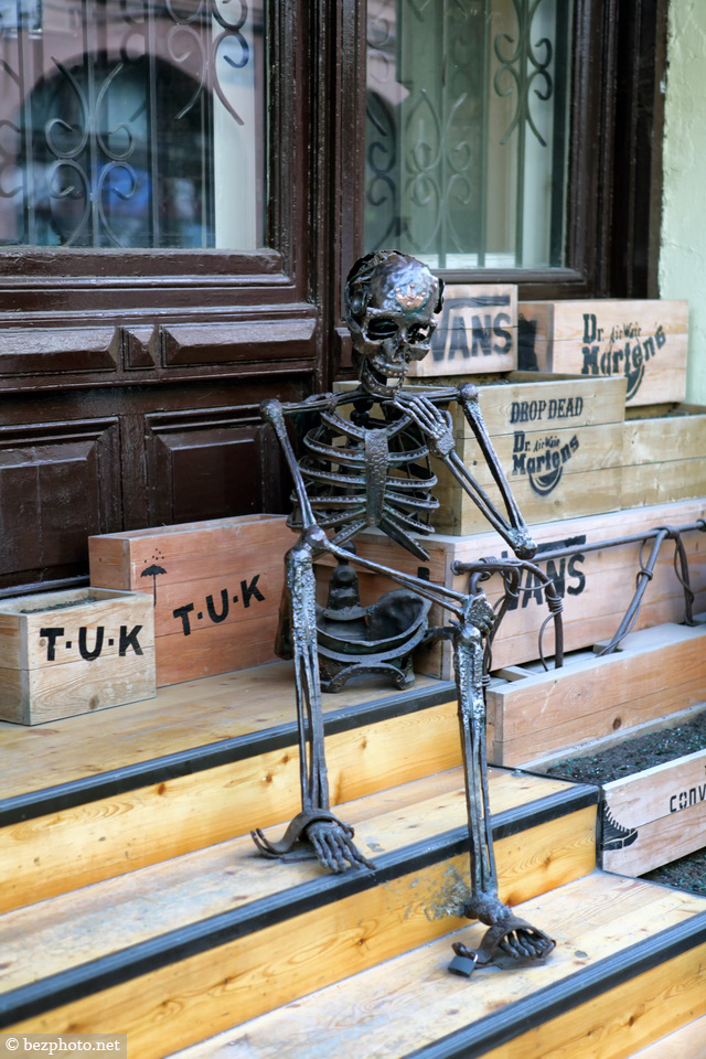 прикольный скелет