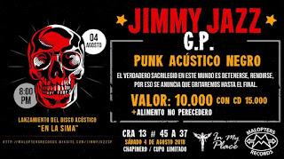 Concierto de Jimmy Jazz G.P. en Bogotá