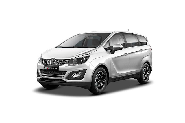 All New 2018 Mahindra Marazzo white pic