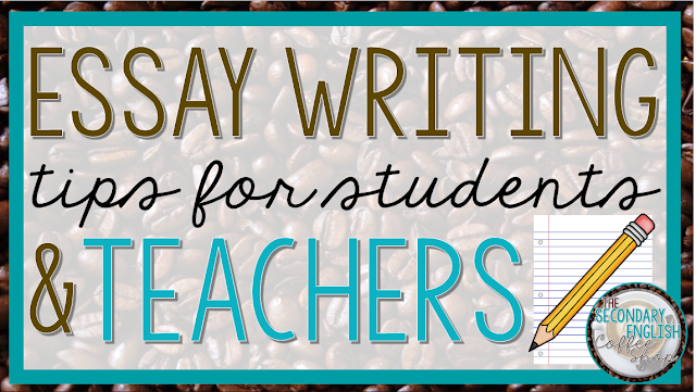 On the lookout for essay writing tips for students and teachers? Then you're going to LOVE the tips included in this ELA blog post! Your 5th, 6th, 7th, 8th, 9th, 10th, 11th, and 12th grade students will be able to write with ease, AND you'll find grading tips to make your life easier as well. But it gets even better - there's a FREE download too! Great ideas for the middle school or high school English teacher or anyone who assigns essays.