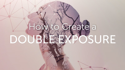 Cara edit foto double exposure di picsart android
