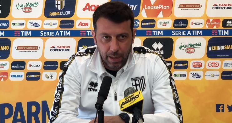 La conferenza stampa di D'Aversa pre Parma Genoa