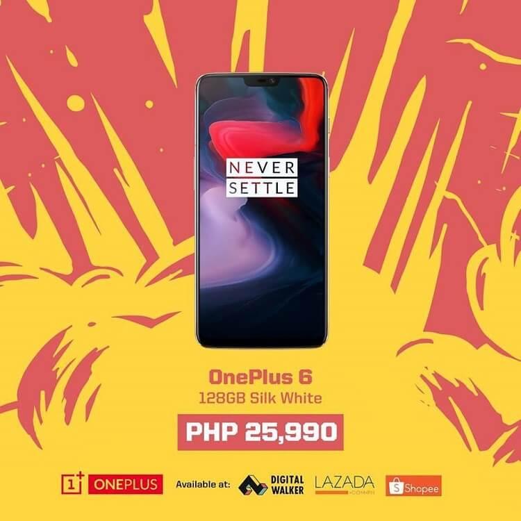 OnePlus 6 (128GB Silk White) Gets a Price Drop