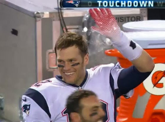 19f0ae64748 The New England Patriots Tom Brady Rejected, Again and Again (Gif ...