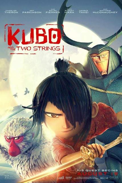 Kubo e La Spada Magica poster cover