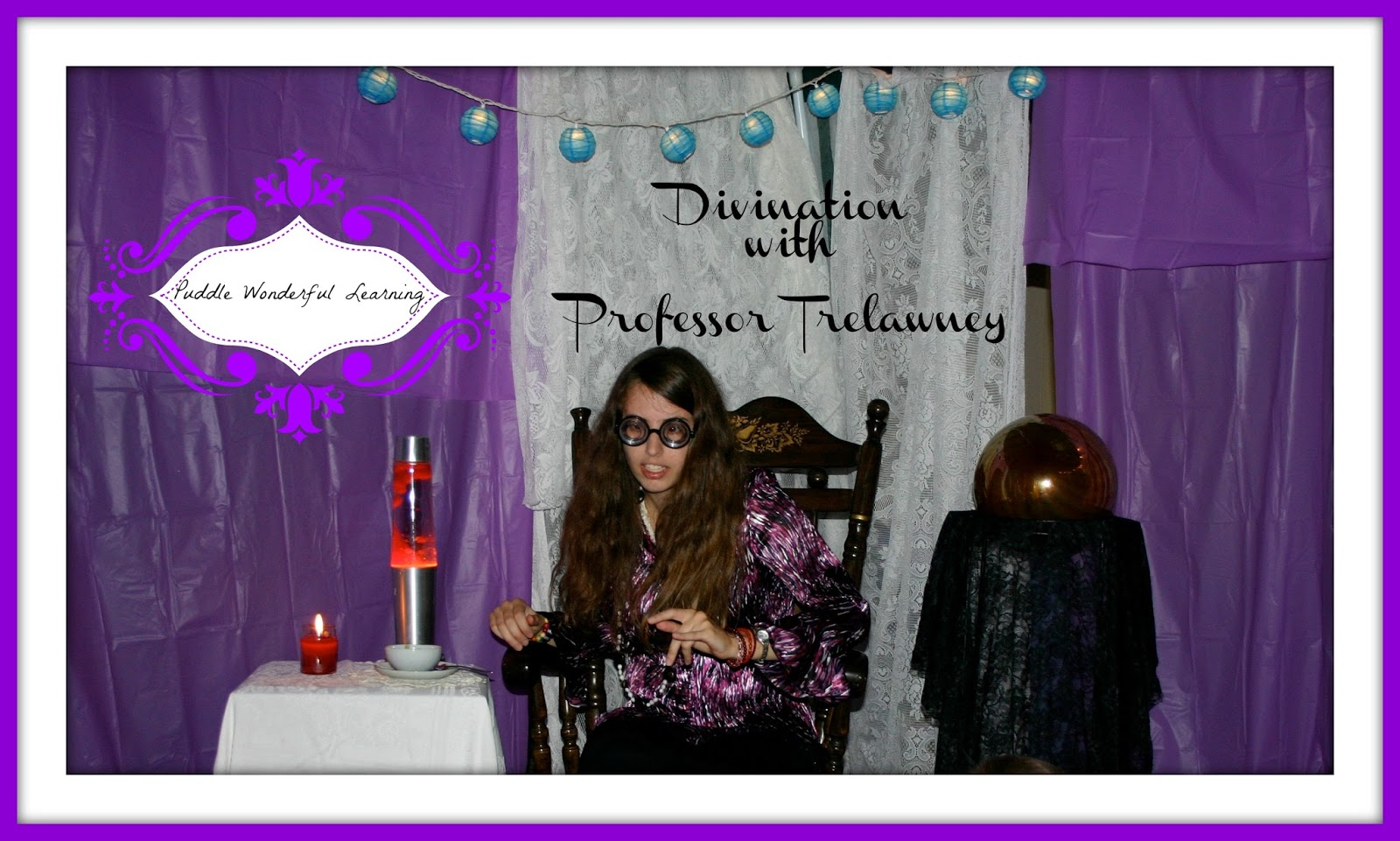 Puddle Wonderful Learning Harry Potter Party Divination