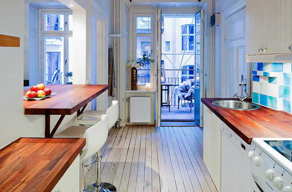 Hogares frescos ideas de dise os para apartamentos peque os for Cocinas para apartaestudios