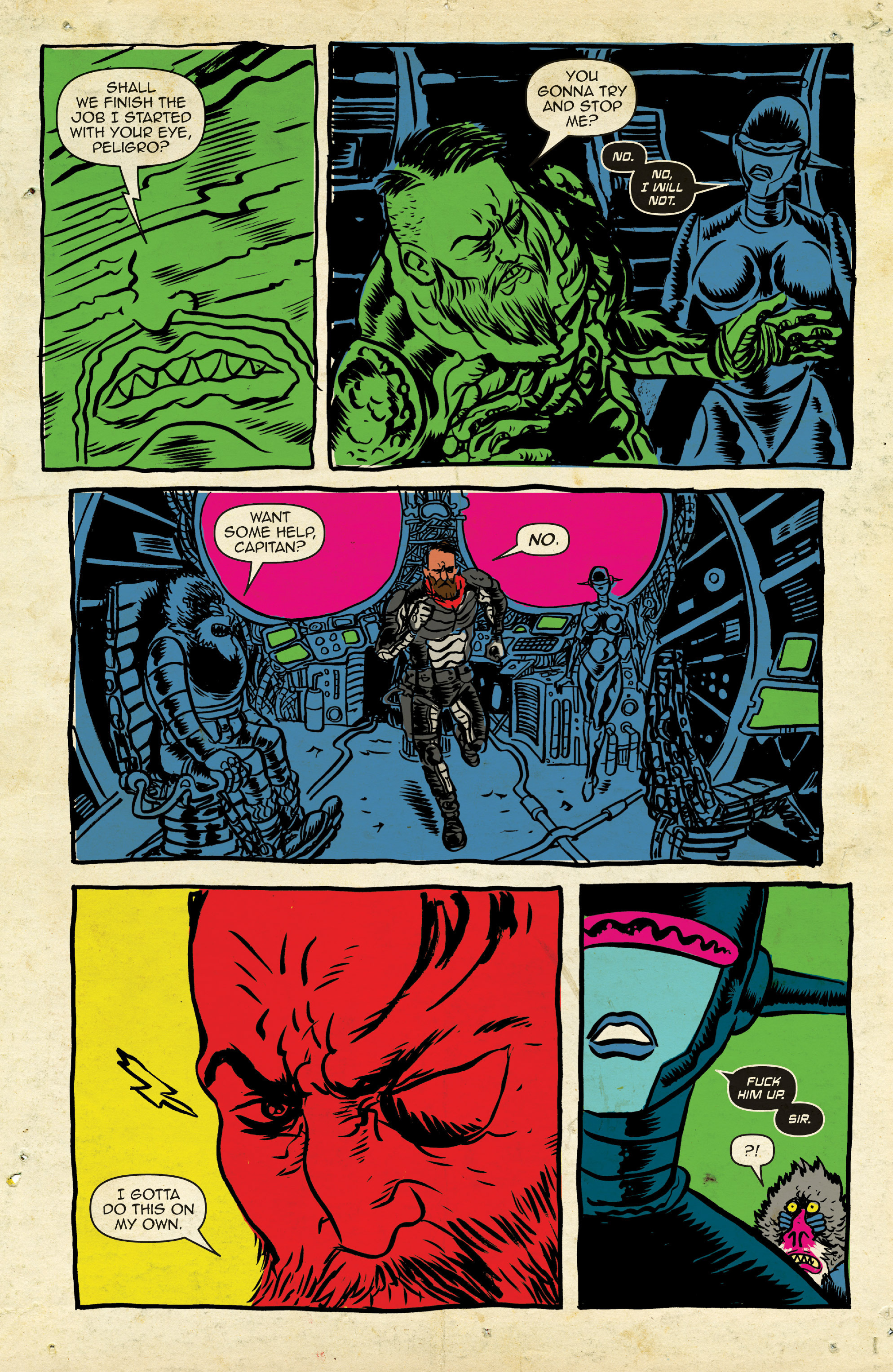 Read online Space Riders comic -  Issue #4 - 13