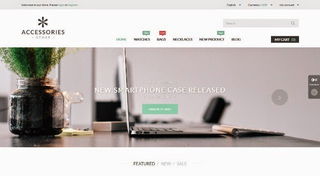 Accessories Store - Responsive Prestashop Theme