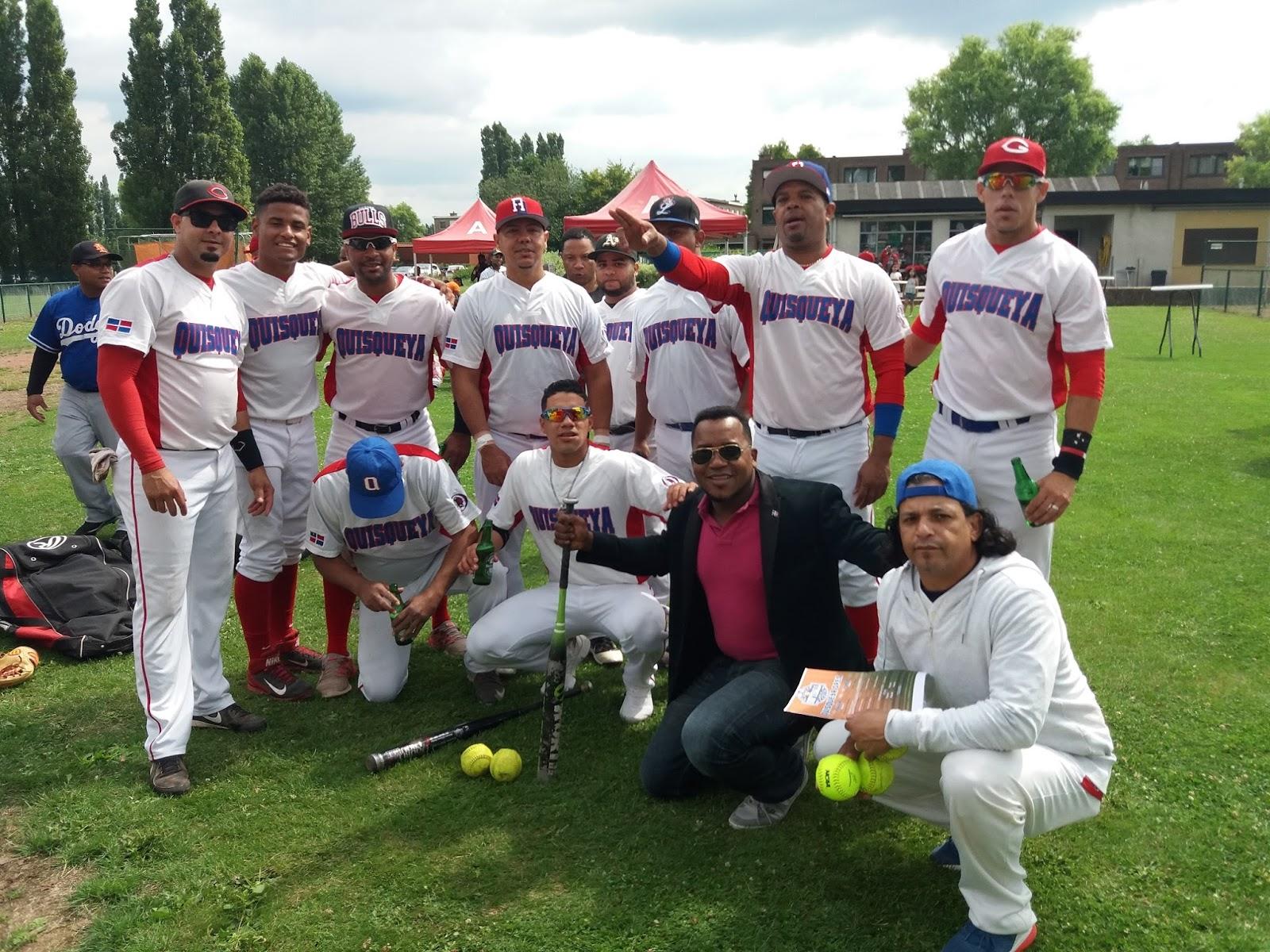 "Dominicanos en Europa celebran Torneo de Softbol ""Quisqueya Open""."