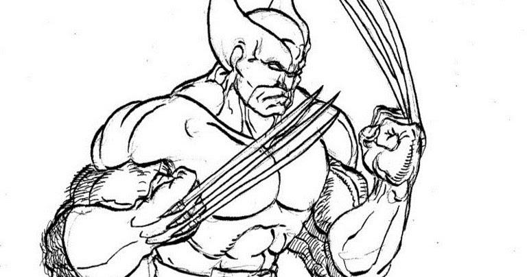 Gambar Mewarnai Wolverine Silahkan Download Gambargambar Burung Cendrawasih