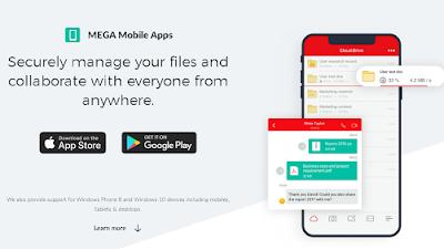 Cara Upload dan Download File menggunakan Mega Karena di Blokir Pasca Pemilu