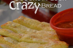 Keto Crazy Bread  Breadsticks - Low Carb, Gluten Free