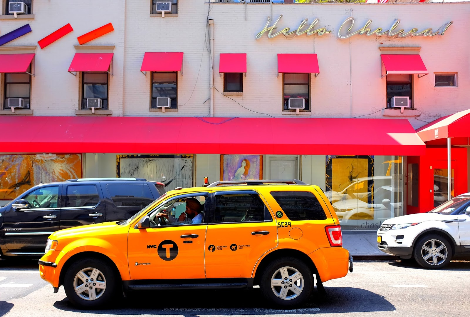 Le Chameau Bleu - New York Chelsea - Yellow Cab - Taxi