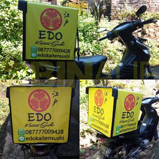 Tas delivery box makanan Surabaya edo sushi