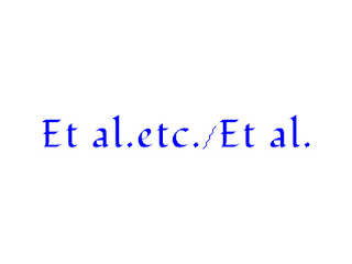"When and how to use ""etc."" and ""et al."""