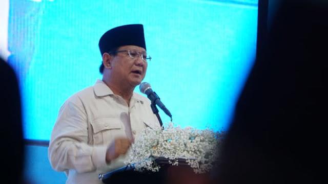 Prabowo: Saya Grogi di Hadapan Ulama, Kalau di Depan Tentara Biasa