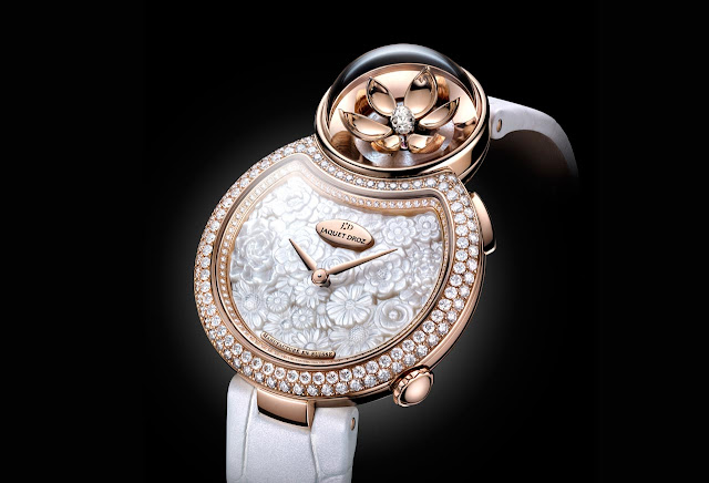 Jaquet Droz Lady 8 Flower, new 2018 model
