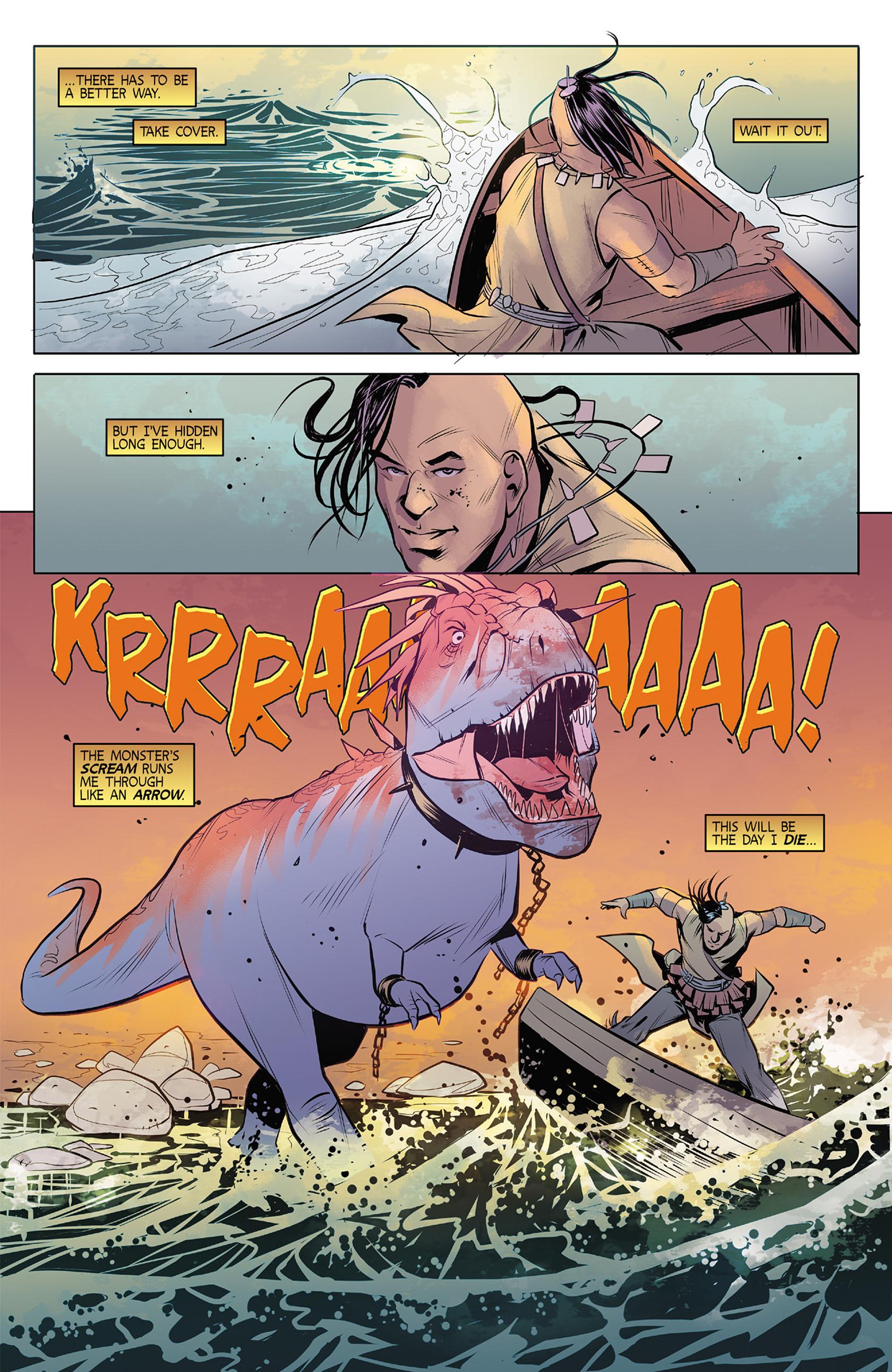 Read online Turok: Dinosaur Hunter (2014) comic -  Issue #4 - 21