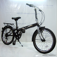 3 Sepeda Lipat NNY My Lifestyle Alloy Frame 20 Inci