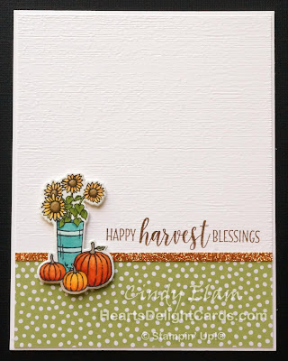 Heart's Delight Cards, At Home With You, Fall, Autumn, Stampin' Up!