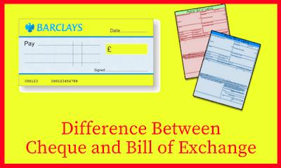 distinguish between promissory note and bill of exchange