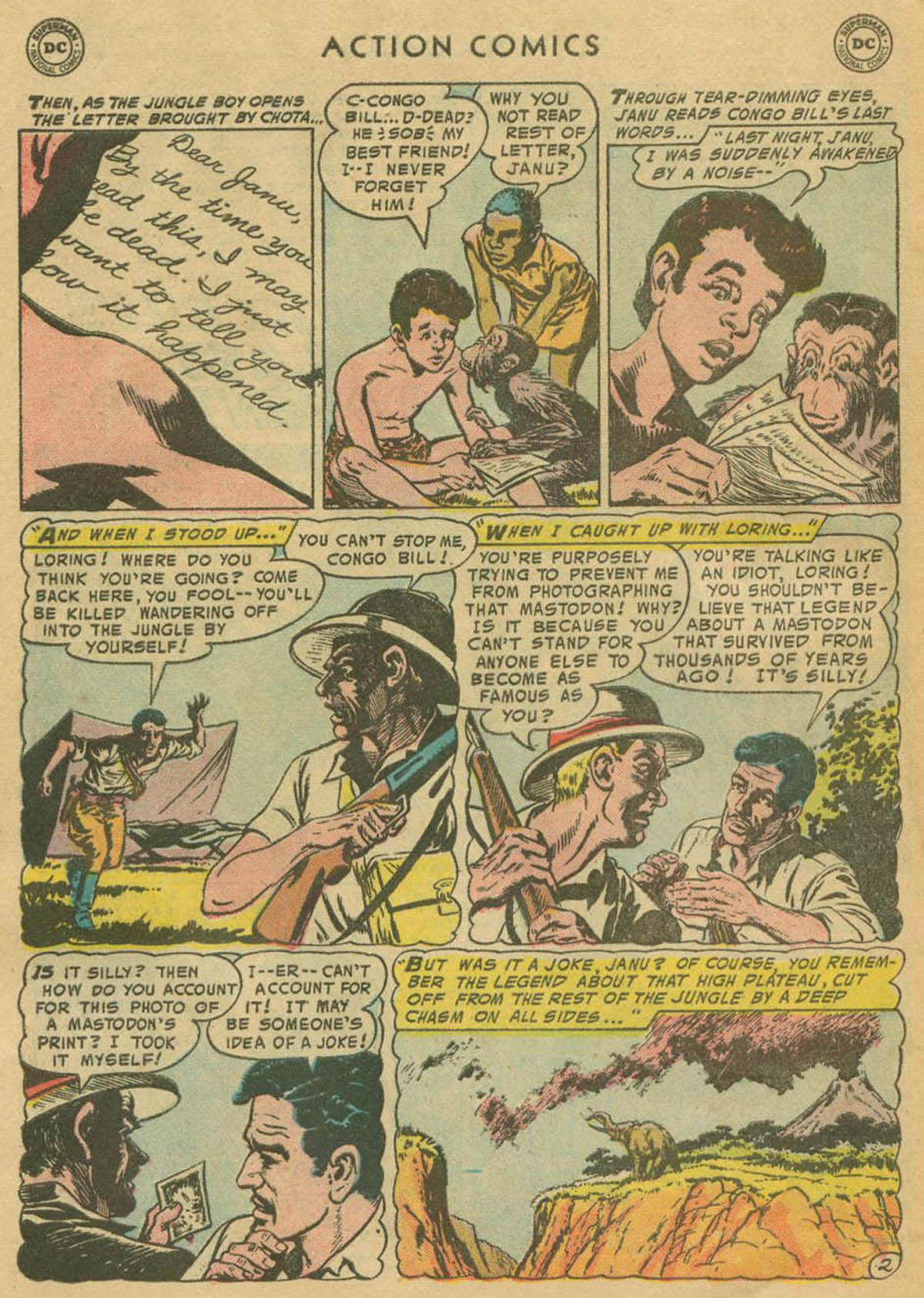 Read online Action Comics (1938) comic -  Issue #208 - 27