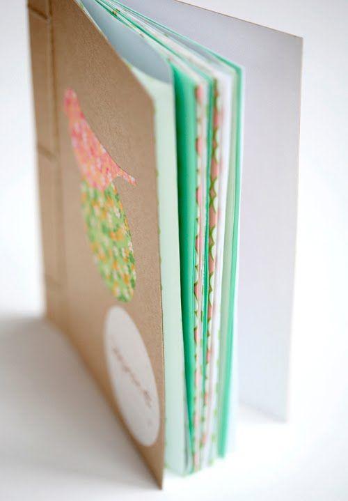 Diy Crafty Book Binding By Janis Nicolay Poppytalk
