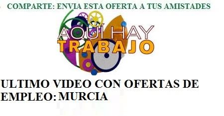 Murcia, Aquí hay trabajo. Lanzadera de Empleo Virtual. AQHT