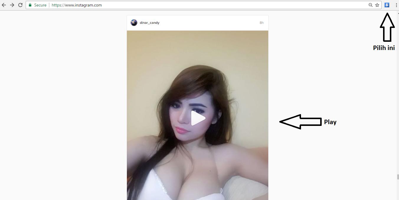 Tutorial Cara download Video Instagram di PC dan Laptop