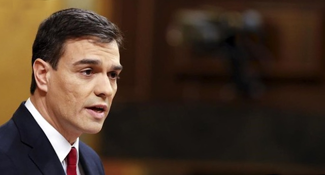 """Pedro Sánchez: """"Nadie puede pedirnos que votemos lo que queremos cambiar"""""""
