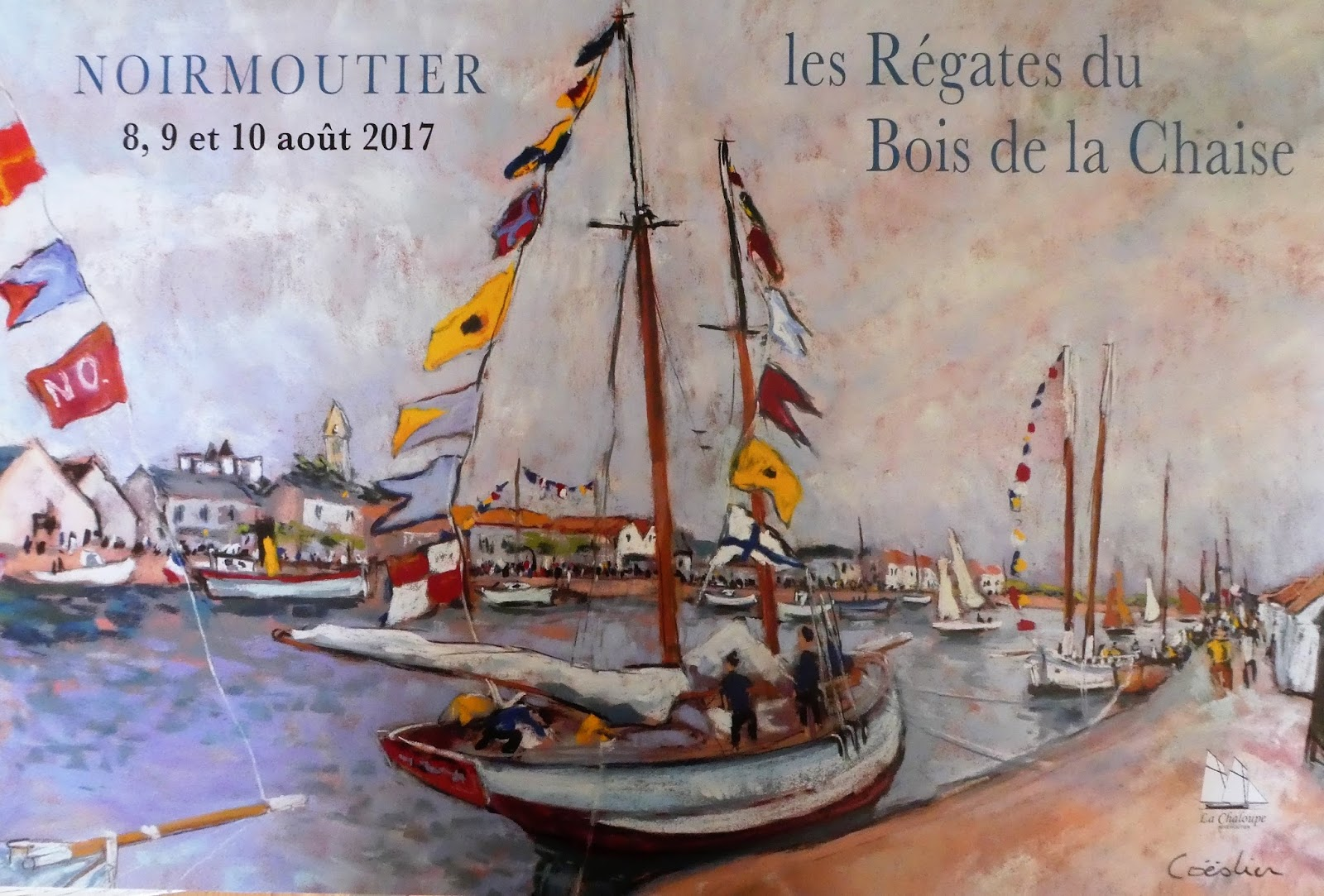 les régates de l'ile de Noirmoutier