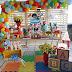 Mundo Bita em decoração afetiva para festa infantil