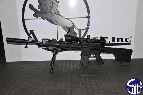 World Defense Review: Sniper rifle AR 10 Super SASS (Armalite