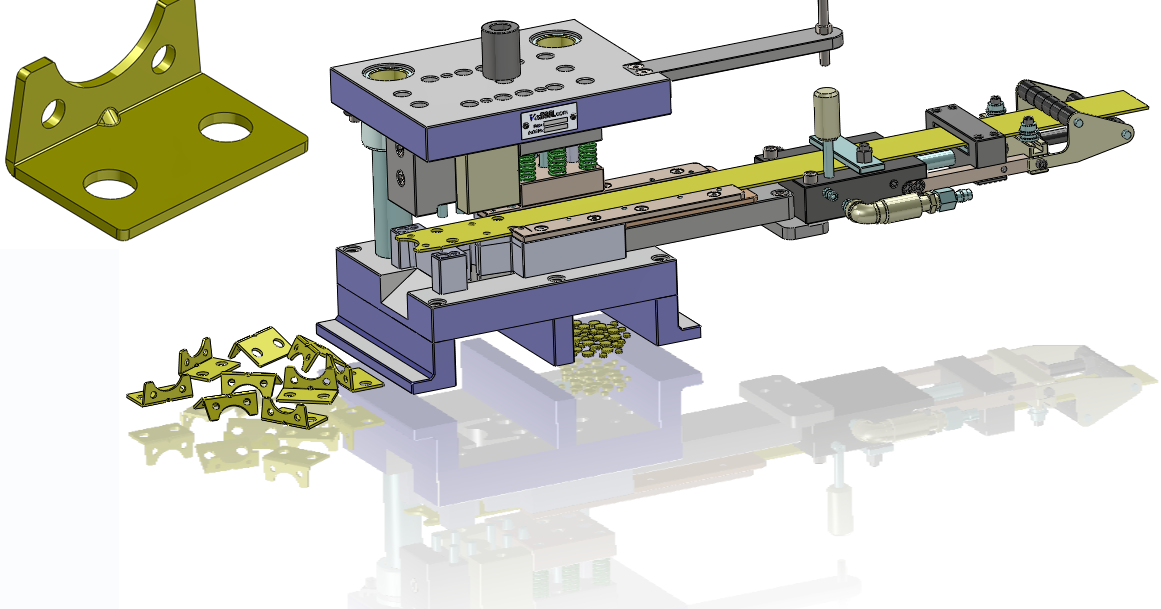 Vortool Manufacturing Ltd Progressive Blanking Tool Design