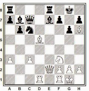 Posición de la partida de ajedrez Ghitescu - Donner (Beverwijk, 1967)