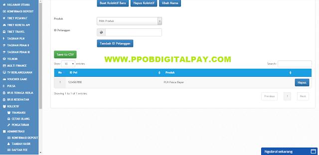Cara Mudah Menambahkan Menu Kolektif PLN PPOB Digital Pay