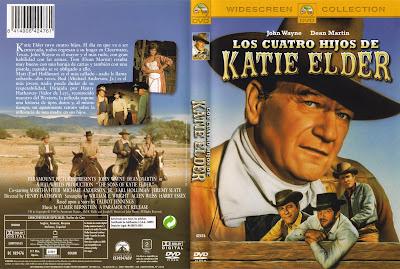 Carátula dvd: Los cuatro hijos de Katie Elder 1965
