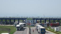 Trafic întrerupt temporar, pe podul Calafat - Vidin