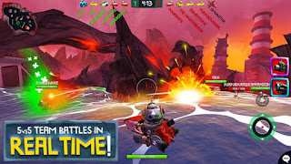 Battle Bay Mod Apk Unlocked all item