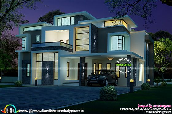 stunning contemporary house plans. Stunning contemporary house architecture  Kerala home design and