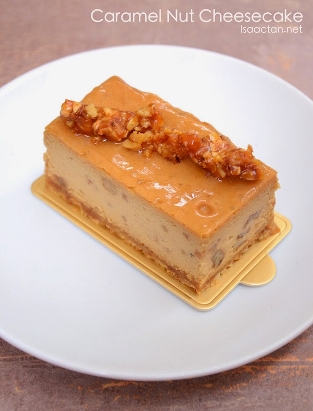 Caramel Nut Cheesecake