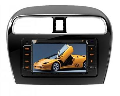 AVT Head Unit Double Din CNE 6958B Mitsubishi Mirage